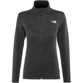 The North Face W's Inlux Wool Full Zip Jacket TNF Black